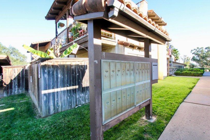 Quaint and convenitnet mail boxes of Visa del Mundo community.