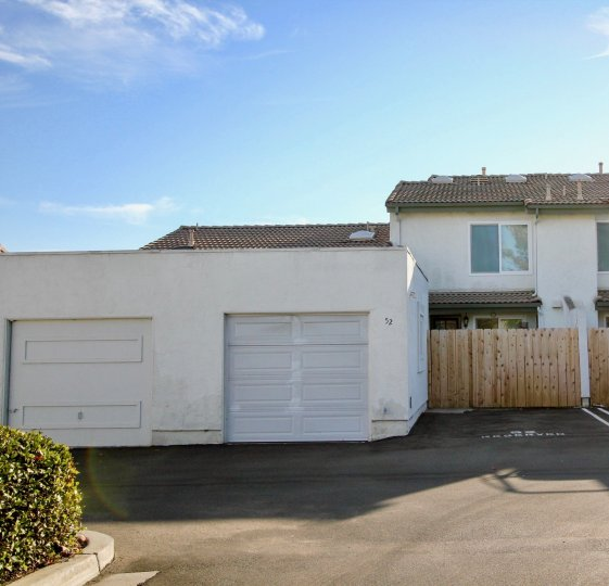 Two story home with separate garages at Westwinds I in Escondido California