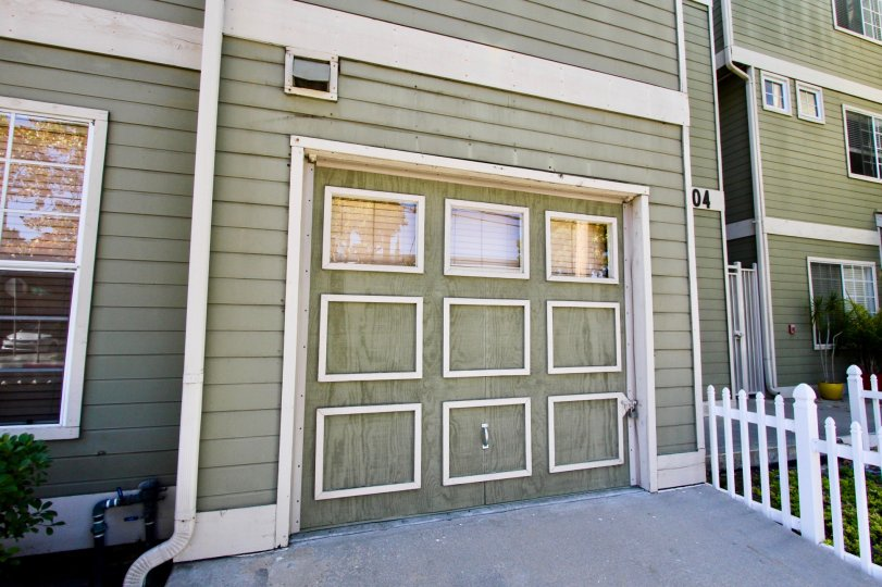 Garage space available within the Arbor Village community in Hillcrest, CA.