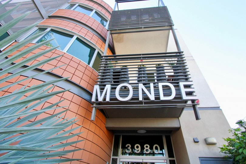 3980 Monde Multi-story building Hillcrest California