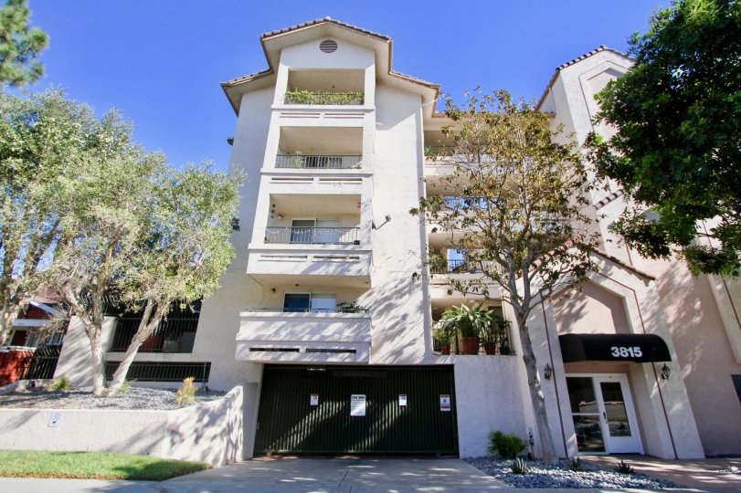 High apartment building for you to enjoy the view on every level in the pacific Ridge community of Hillcrest