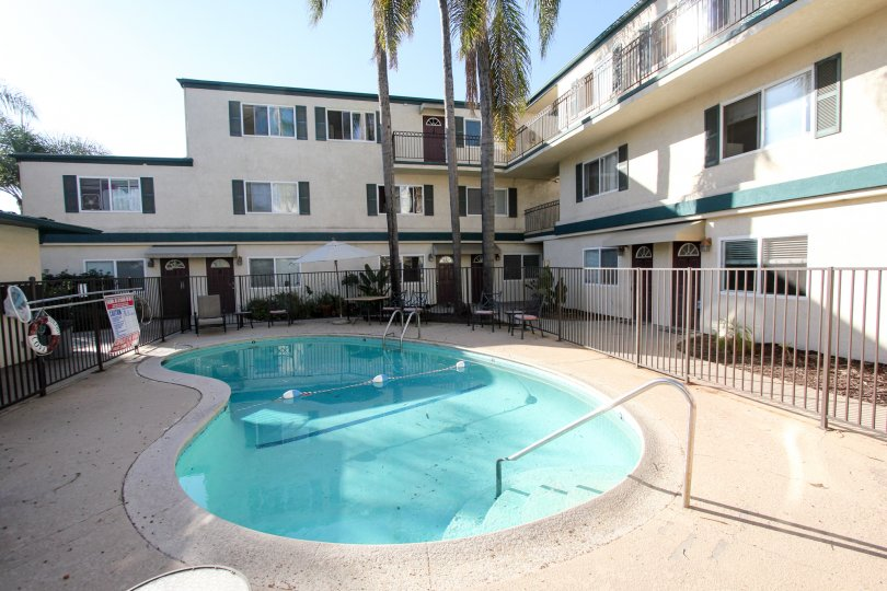 Beautiful hotel with pool in Dolphin Bay, Imperial Beach CA