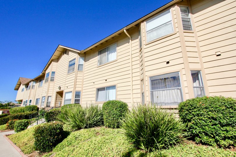 Two story residential building at Holly Manor in Imperial Beach California