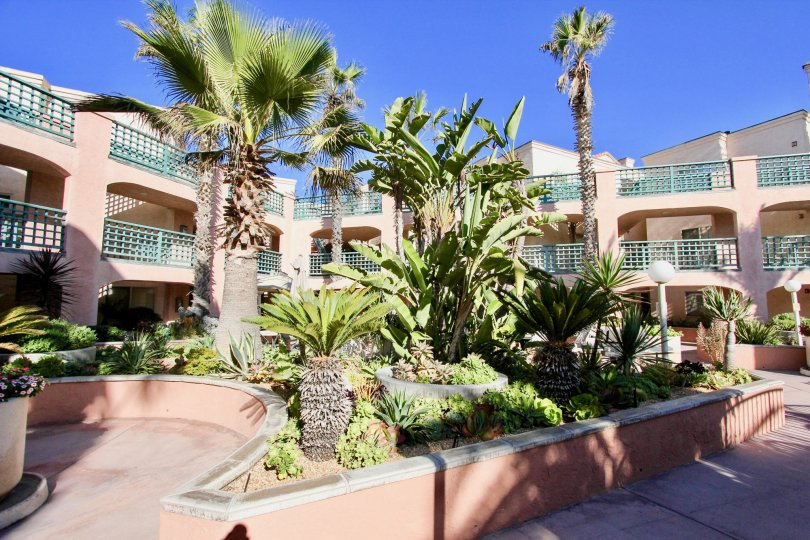 Three story residential building at Imperial Beach Club in Imperial Beach California