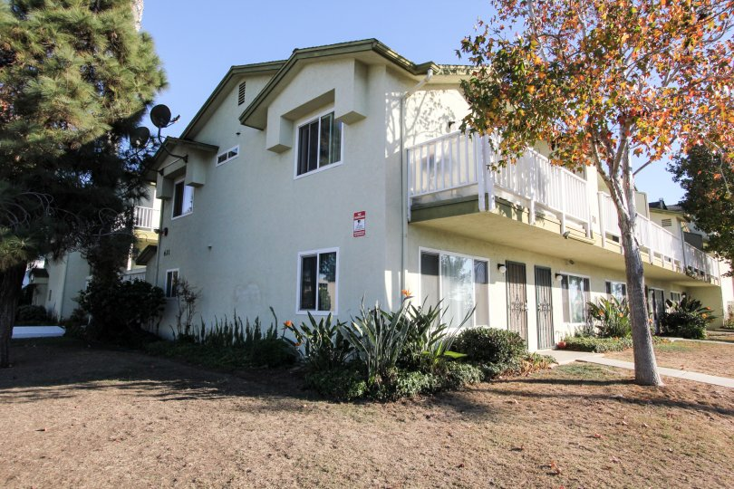 Two story town homes with yard at Imperial Heights in Imperial Beach California