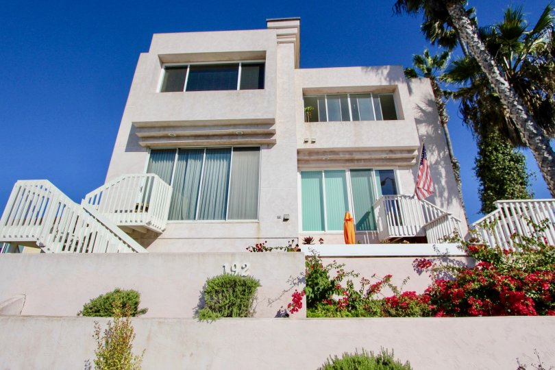 Two story residence at Las Mareas in Imperial Beach California