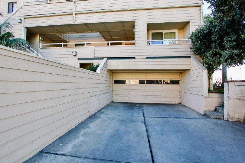 Multiple story residential building at Ocean Palms in Imperial Beach CA