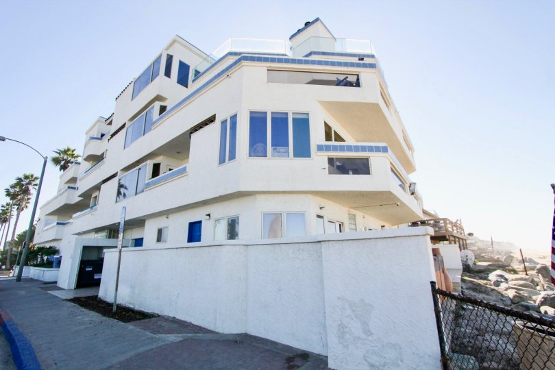 Three story residential units at Ocean Point in Imperial Beach California