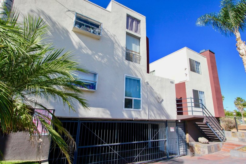Three story residence with under ground parking in Riviera Beach & Bay Villas in Imperial Beach CA