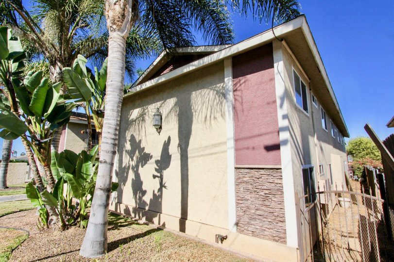 Two story residential units at Seabreeze Gardens in Imperial Beach California