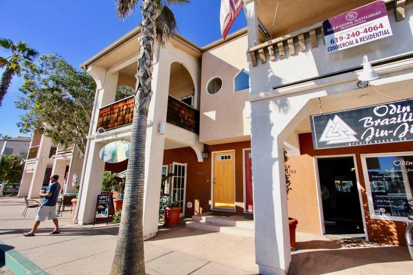 Shopping center at Shopkeeper at the Beach in Imperial Beach CA