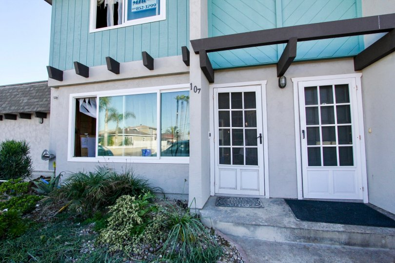 Building with three floors and parking located in the Silverstrand Gardens, Imperial Beach California