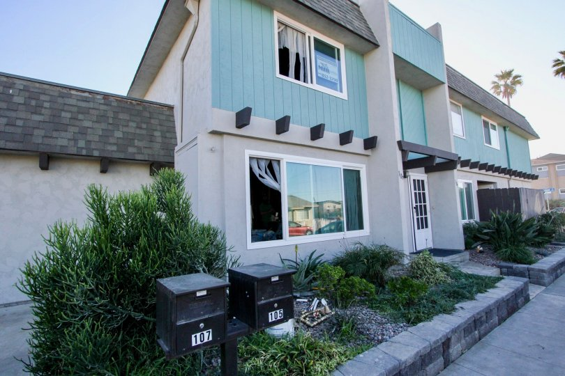 Three story town homes at Silverstrand Gardens in Imperial Beach California