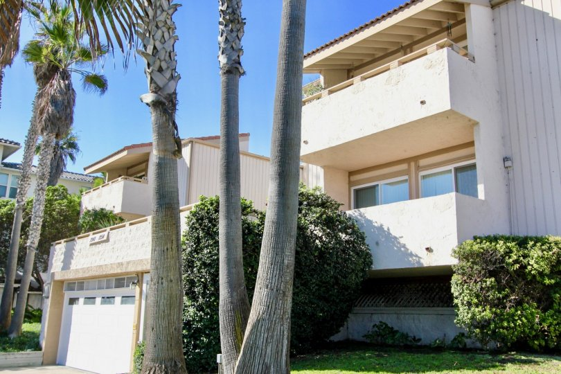 Southwesterly Shore, City: Imperial Beach, balconies and trees