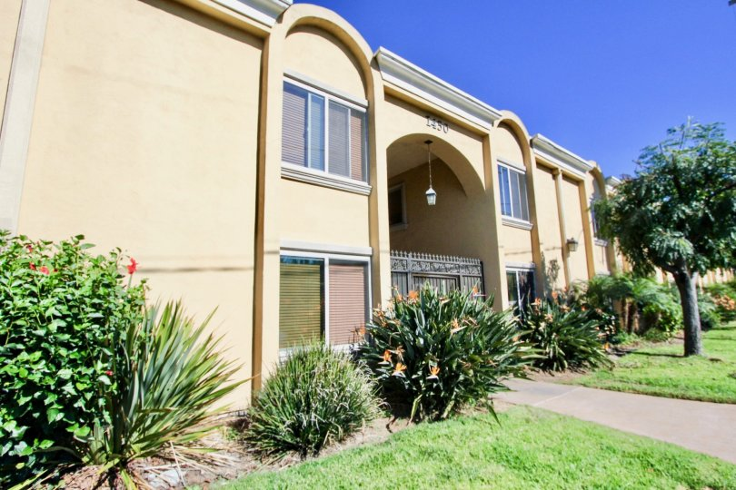 Two story residential units with yard at Tapestry in Imperial Beach California