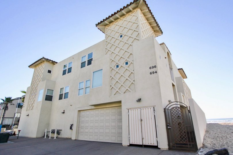 three story units with large garage inside Wavecrest in Imperial Beach CA