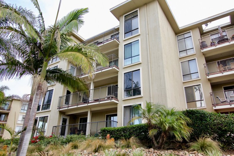 Four story condo town homes inside Clubdoniniums in La Jolla CA