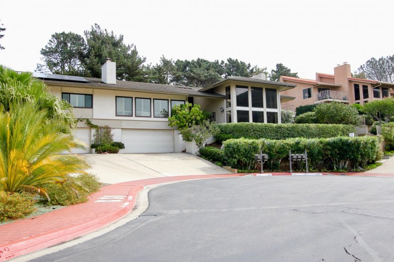 Well maintained home in Coromandel Park in La Jolla, California.