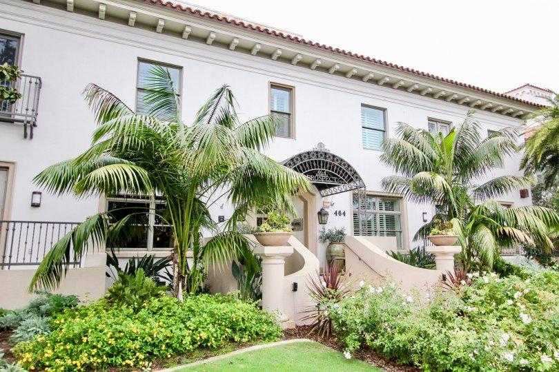 Two story condos inside La Jolla Prospect Condos in La Jolla CA