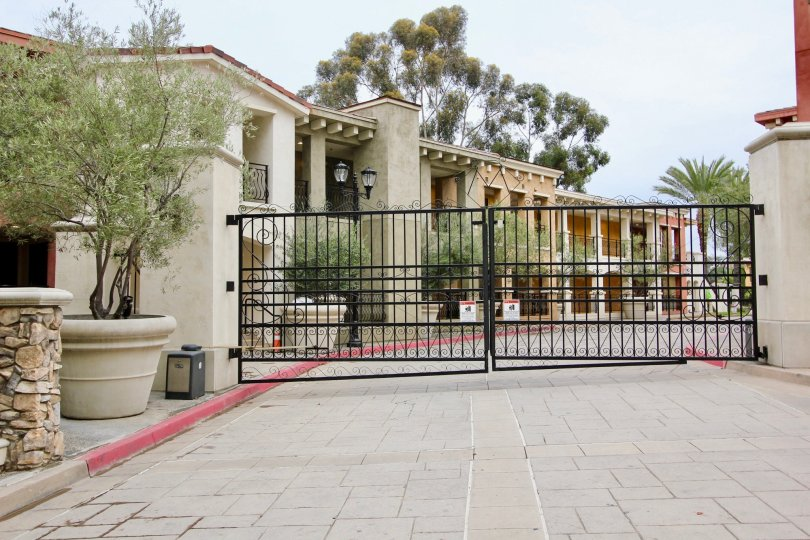 A large residence that has a gate at entrance in Montefaro community.