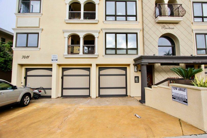 Multilevel condominiums Positano Residences, La Jolla, CA