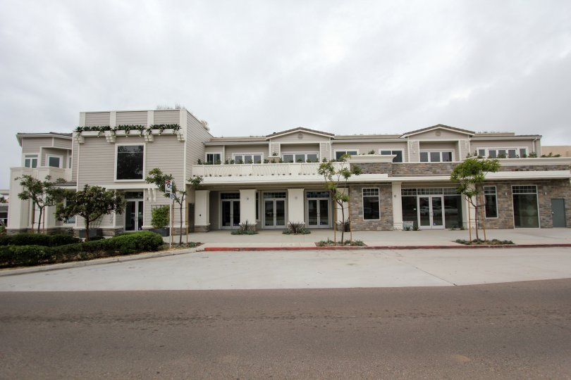 Large residential compound inside Rosemont Condos in La Jolla California
