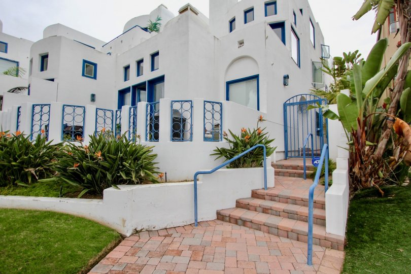 santorini west is a white palace of the la jolla in california