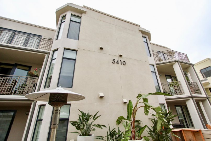 Three story residential housing inside Seahaus in la Jolla CA