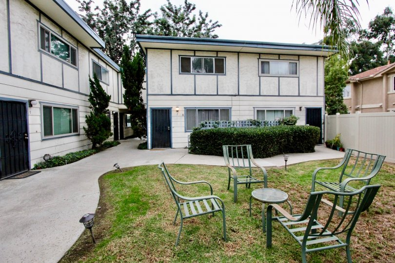 Helix Townhomes La Mesa California house with large garden