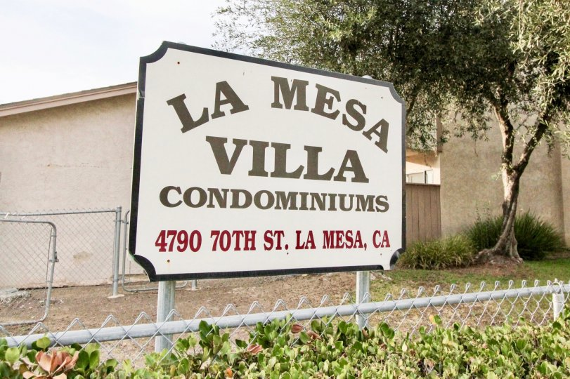 "ALT=""La Mesa Villa Condos Community at La Mesa in California"""