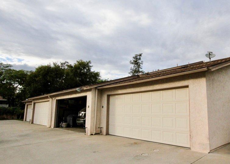 La Mesa Villa Condos La Mesa California four large garages wit satelite