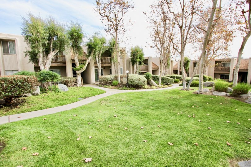 beautifull homes at La Mirianda in La Mesa, California