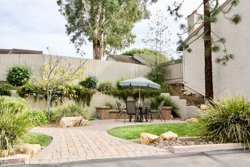 Fabulous sit out place with garden and lawn beside a villa in Pinecrest of La Mesa