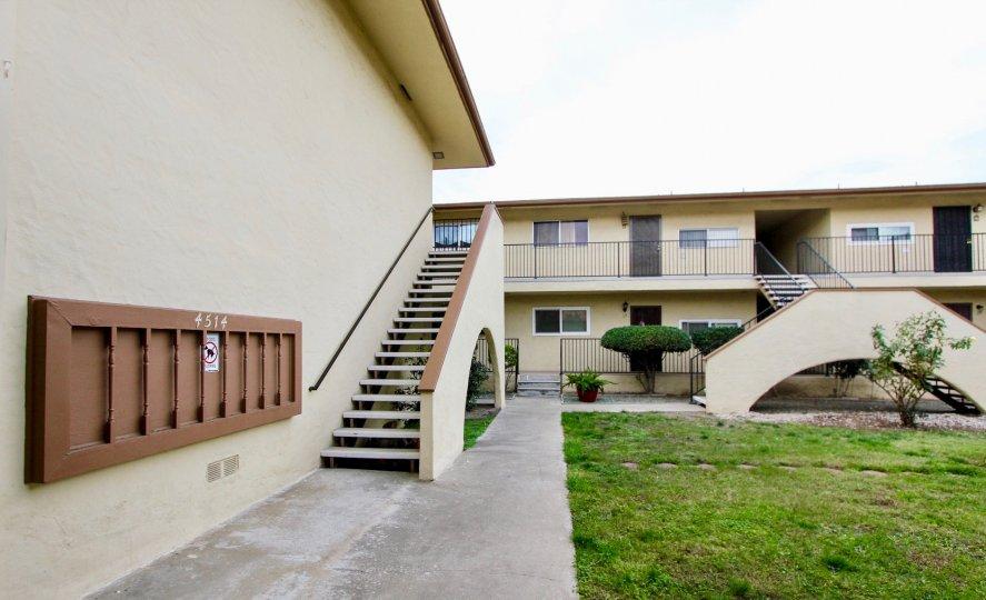 A bright day at Sunridge Terrace in La Mesa with clean surroundings.