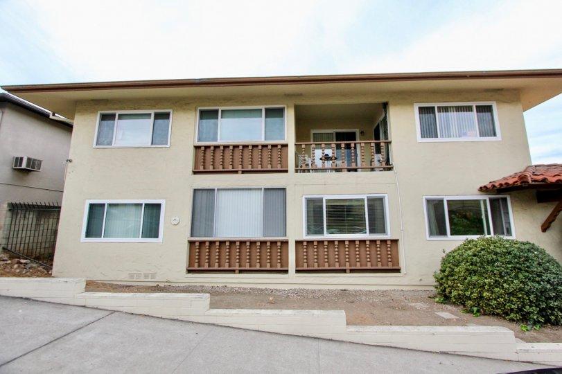 Sunridge Terrace La Mesa California apartments with large street