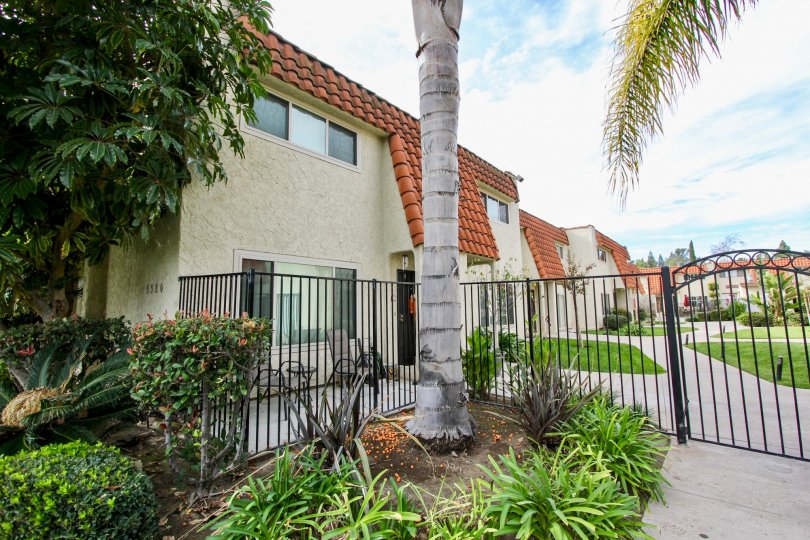 A sunny day in Tangerine Terrace villa with beautiful garden