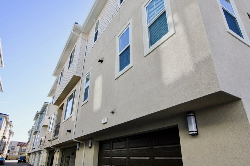 Three story Town-homes with attached garages at Aura in Mira Mesa California