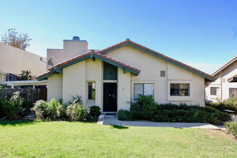 Here is Black Mountain Villas' front office in Mira Mesa, California.