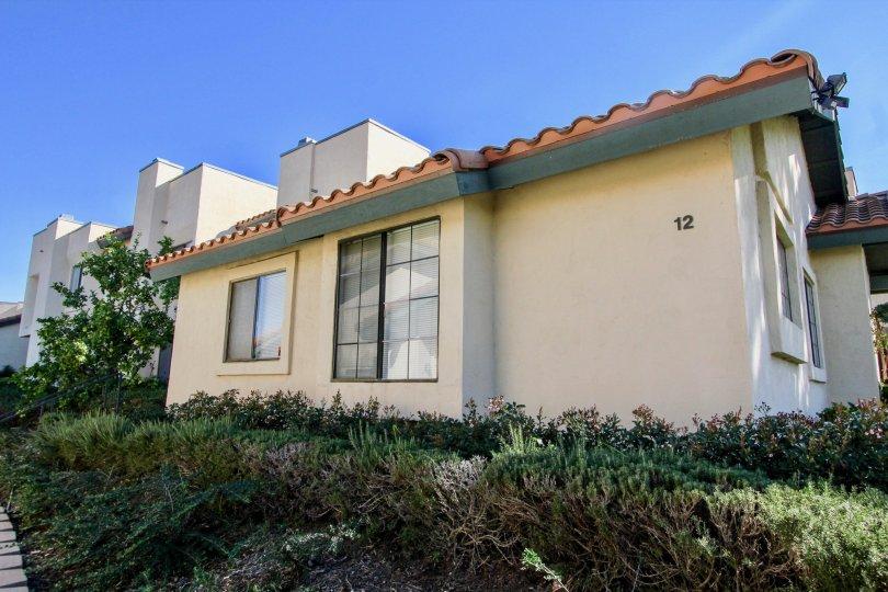 House number 12 in Black Mountain Villas, Mira Mesa, California