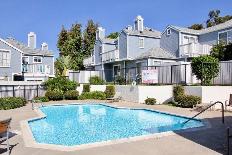 Canyon Colony's Swimming Pool facility in Mira Mesa California