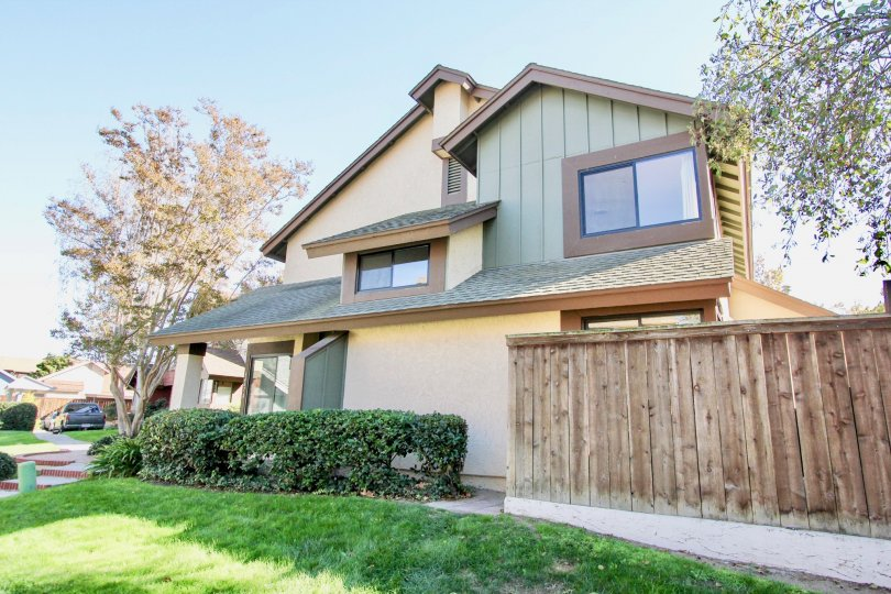 Residence with yard and fence at Concord Square in Mira Mesa California