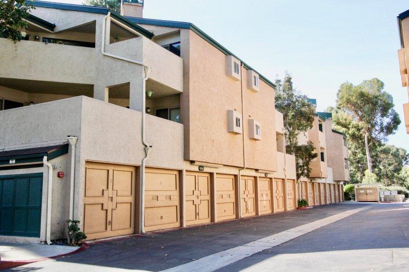 Super Buildings in the  Community of Creeside, Mira  Mesa, California