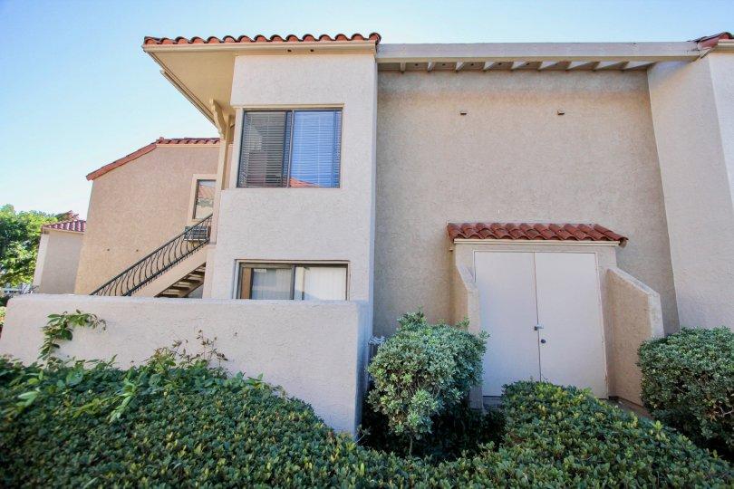 A bright and sunny day at Flair apartment in Mira Mesa, California