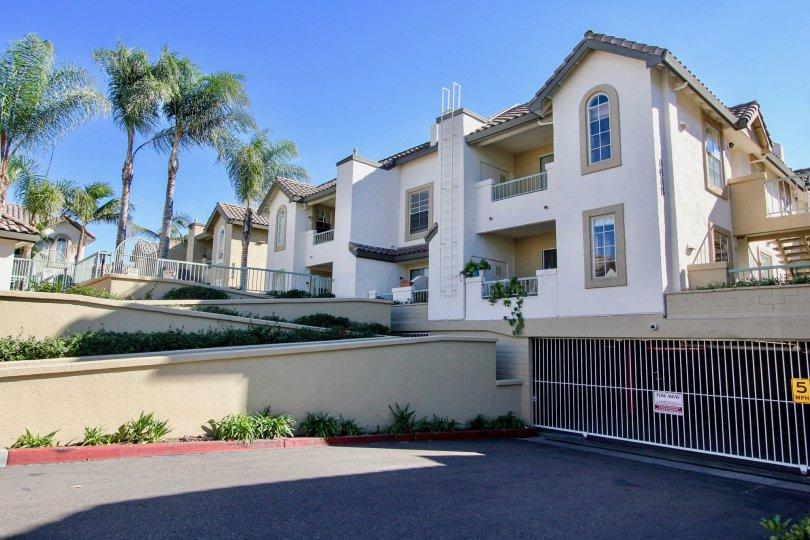 Mirabella apartments in the city of Mira Mesa, California