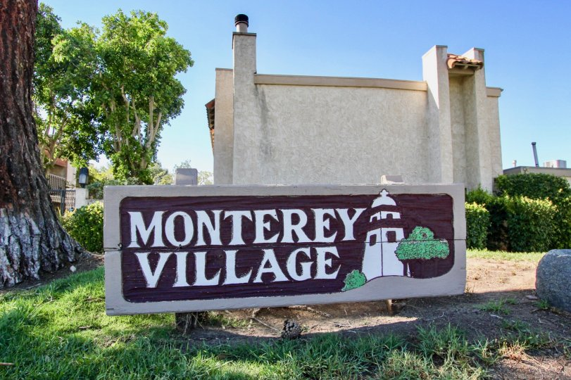 Beautiful Montery Village Entrance, Mira Mesa, California