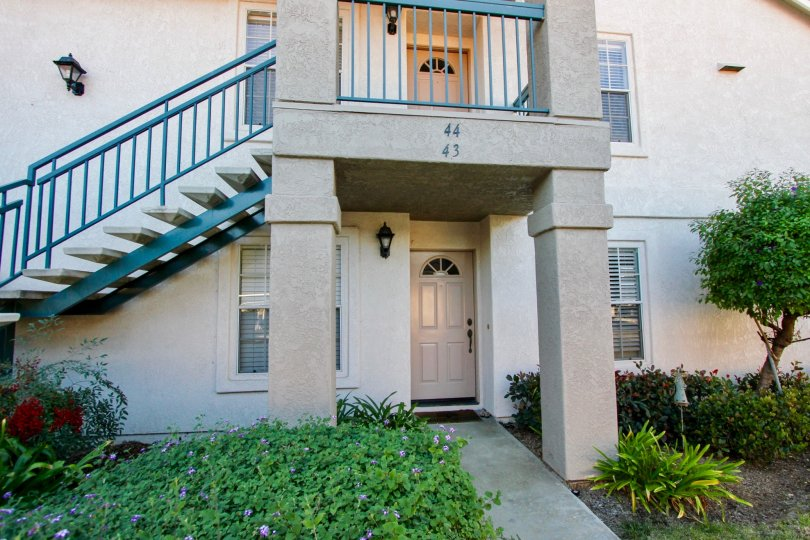 Units 43 and 44 Summit Ridge with Stairway Mira Mesa California