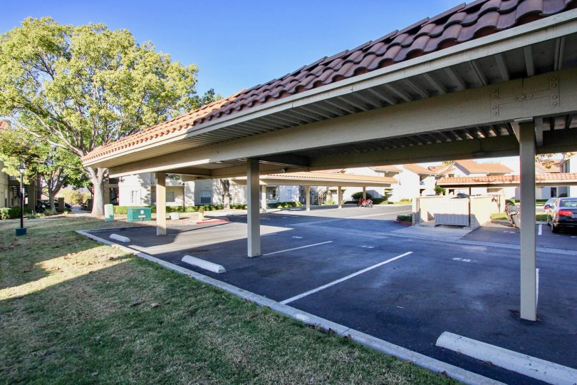 Summit Ridge Community Parking Area, Mira Mesa, California