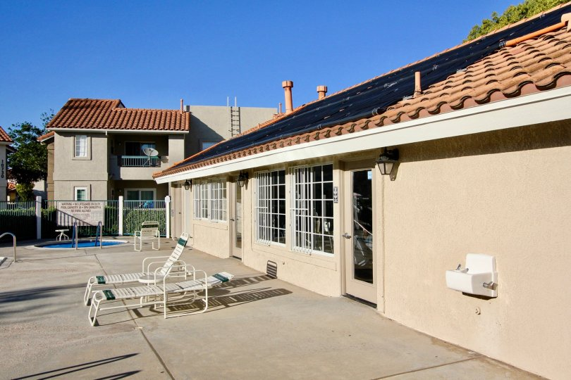 A Bright Sunny day with sitout near front of a house in Summit Ridge of Mira Mesa