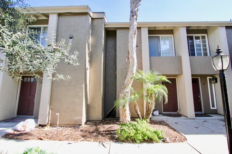 Front  View of the apartment of Windsor park, Mira Mesa, California