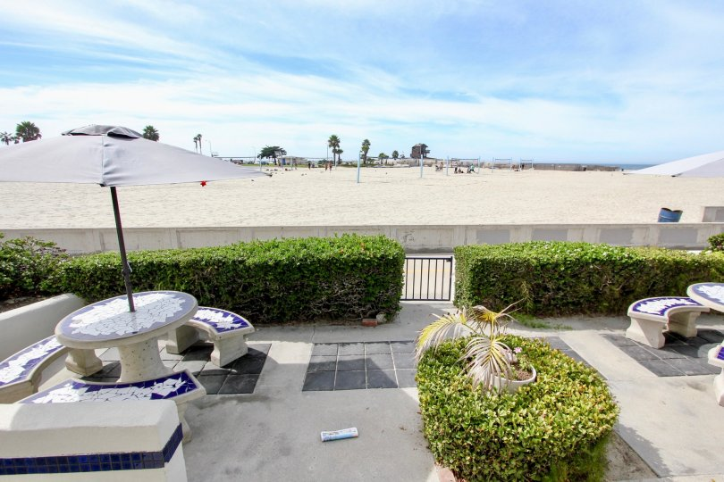 Ocean Vail with it's Perfect Beach View, Mission Beach, California